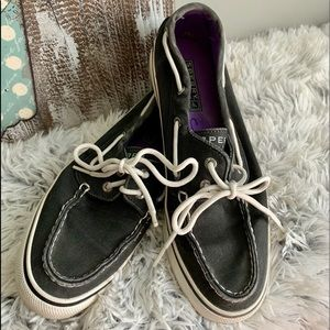 Black Sperry shoes 7 1/2